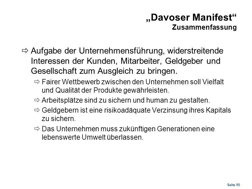 """""""Davoser Manifest Originaltext"""