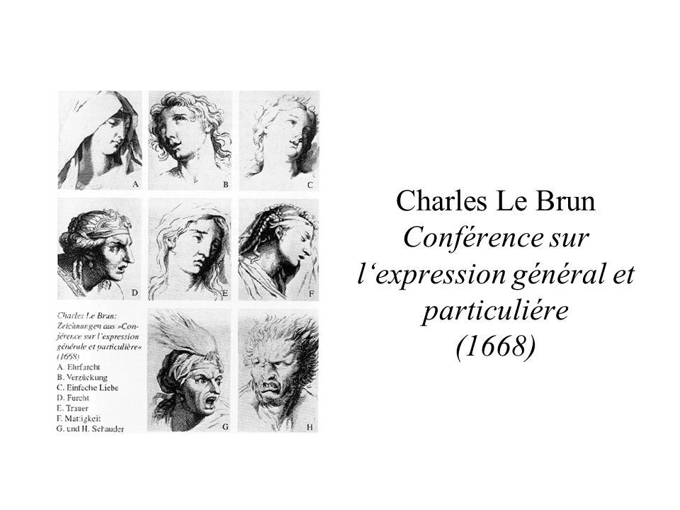 Charles Le Brun Conférence sur l'expression général et particuliére (1668)