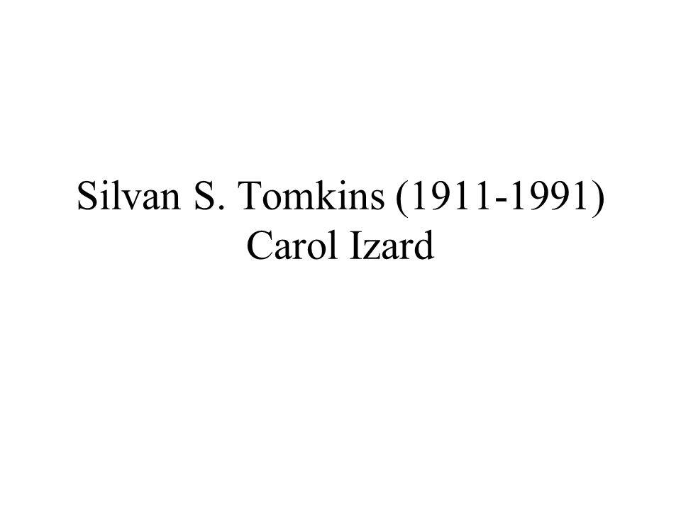 Silvan S. Tomkins (1911-1991) Carol Izard
