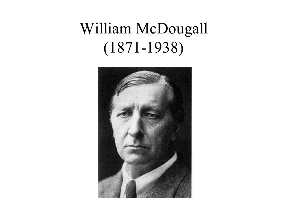 William McDougall (1871-1938)