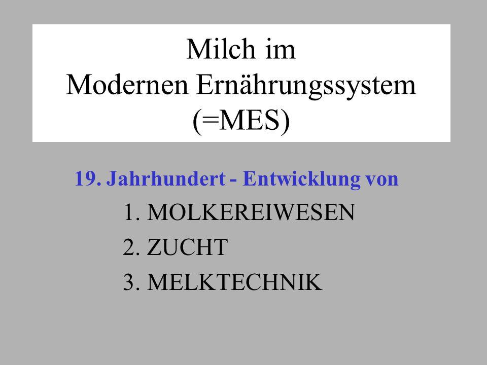 Milch im Modernen Ernährungssystem (=MES)