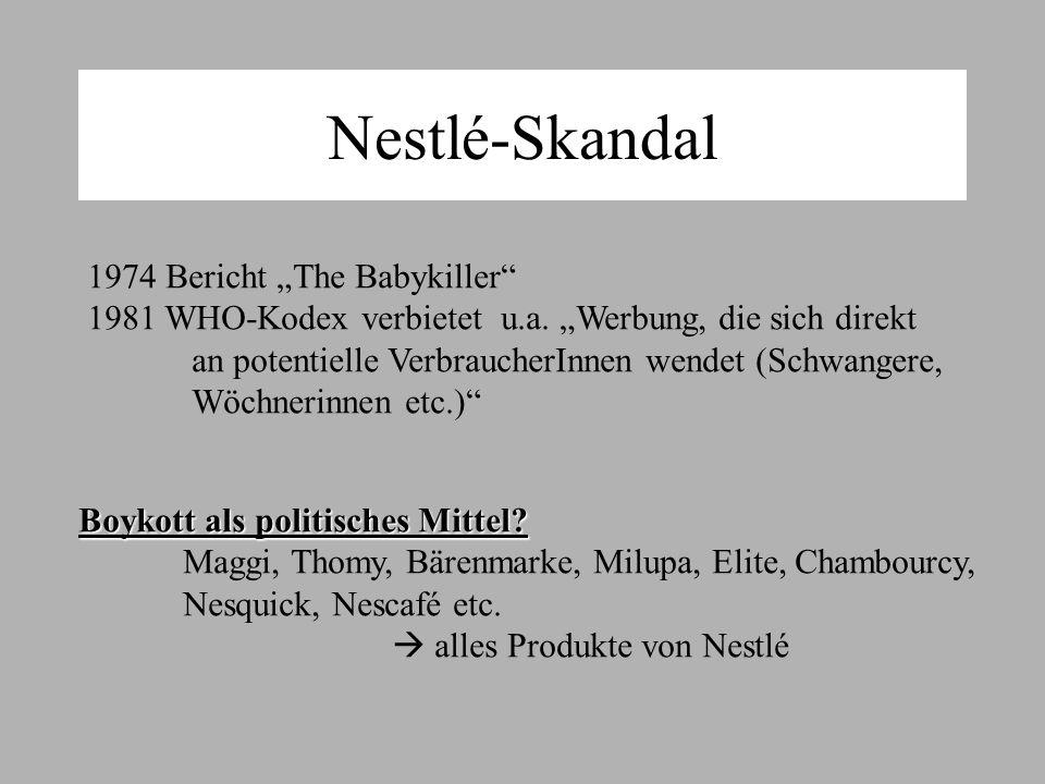 "Nestlé-Skandal 1974 Bericht ""The Babykiller"