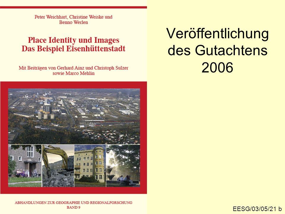 Veröffentlichung des Gutachtens 2006