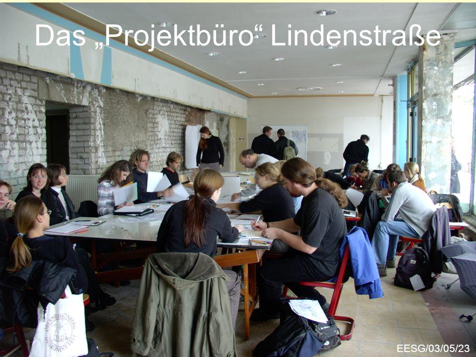 "Das ""Projektbüro Lindenstraße"