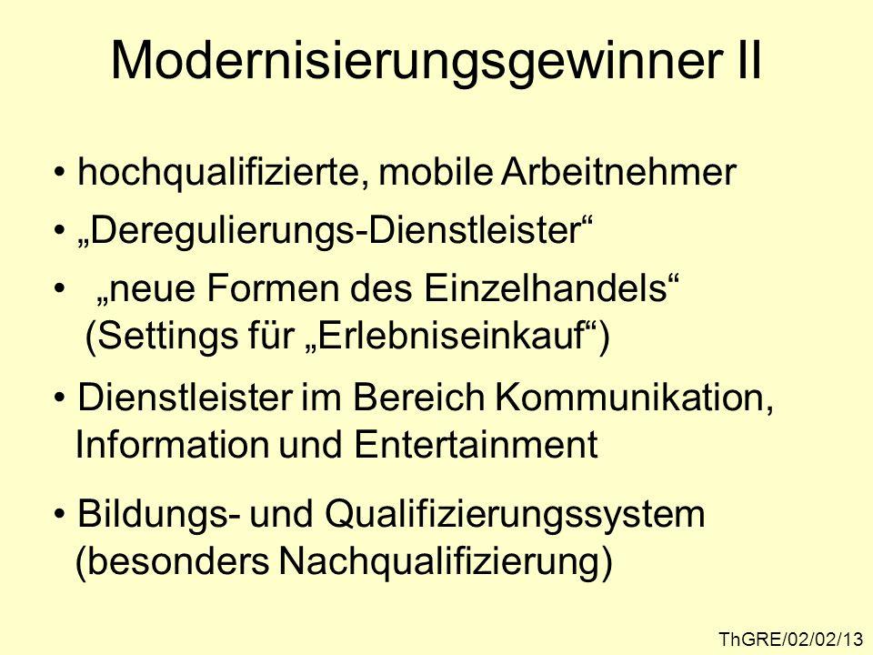 Modernisierungsgewinner II