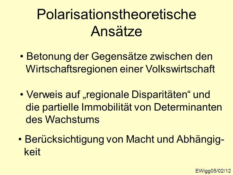 Polarisationstheoretische Ansätze