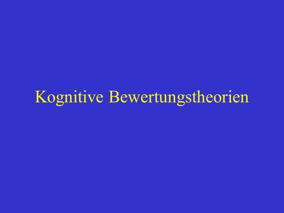 Kognitive Bewertungstheorien