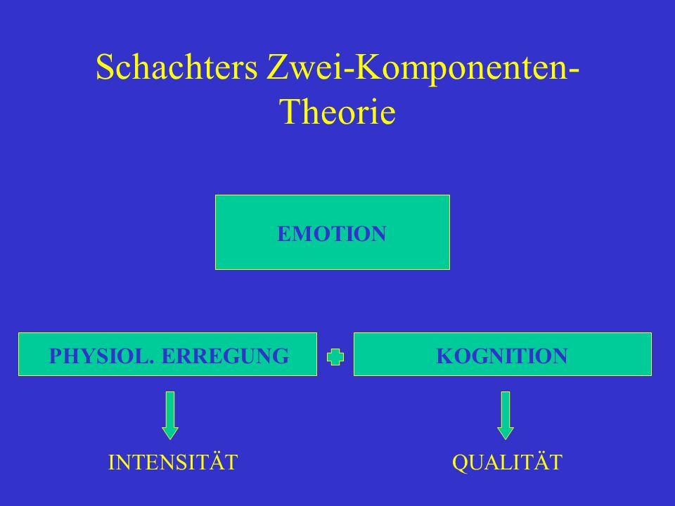 Schachters Zwei-Komponenten-Theorie