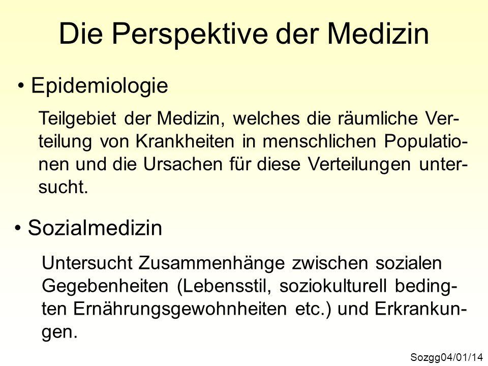 Die Perspektive der Medizin