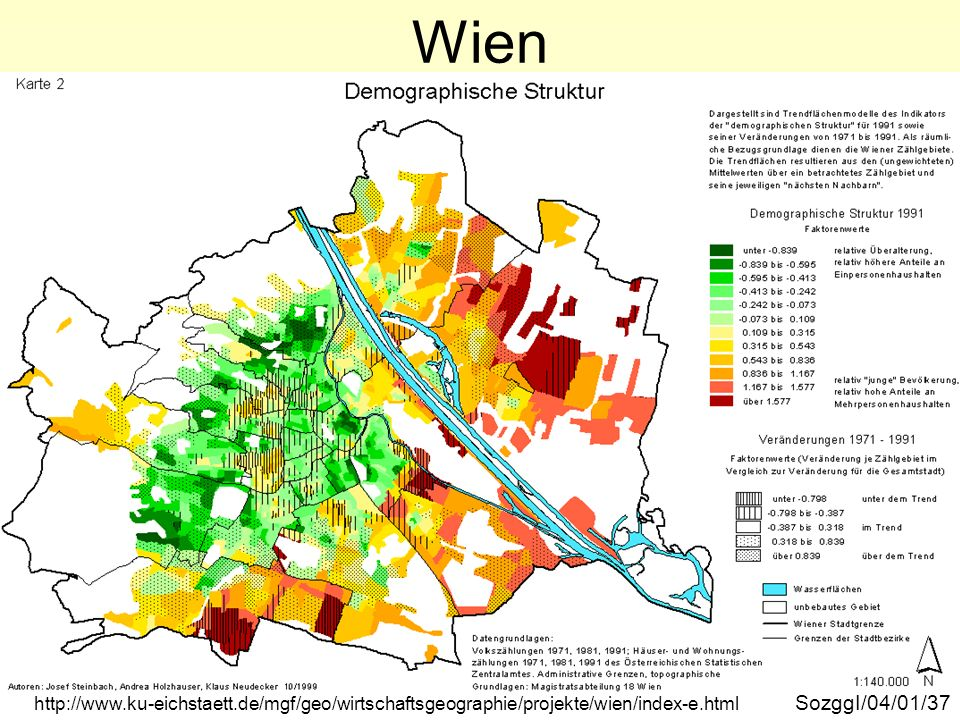 Wien demographische Struktur