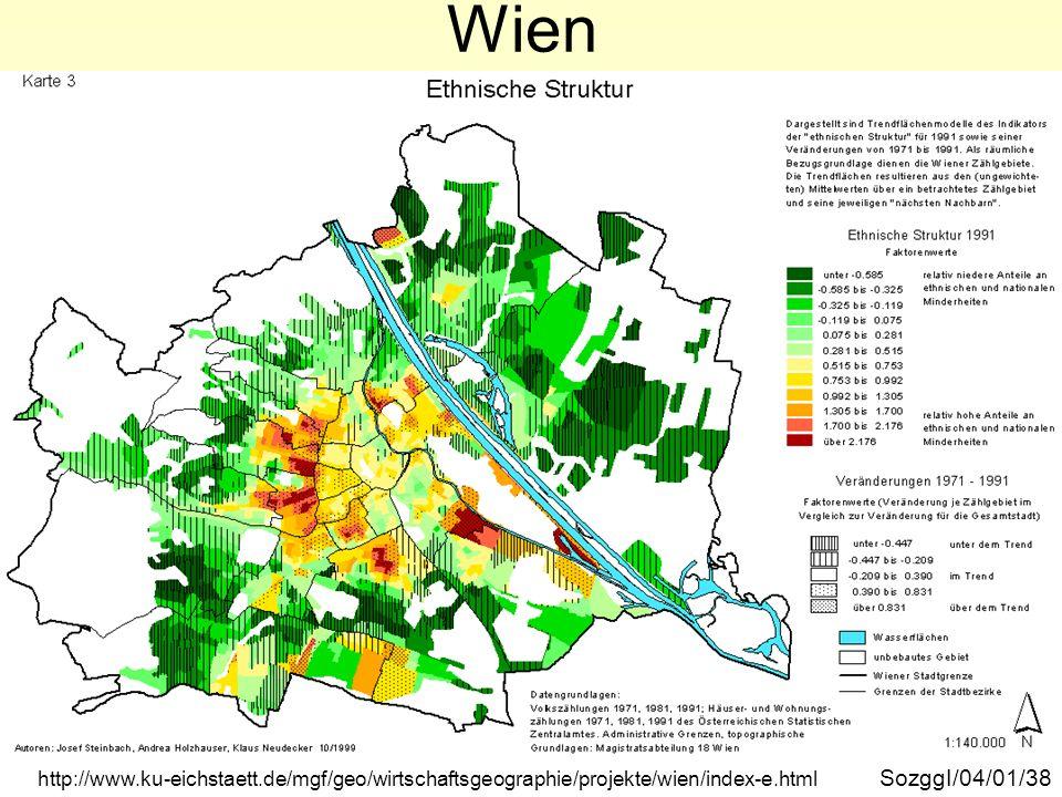 Wien ethnische Struktur