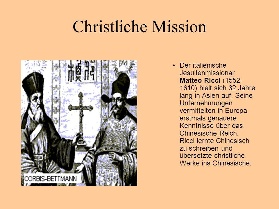 Christliche Mission