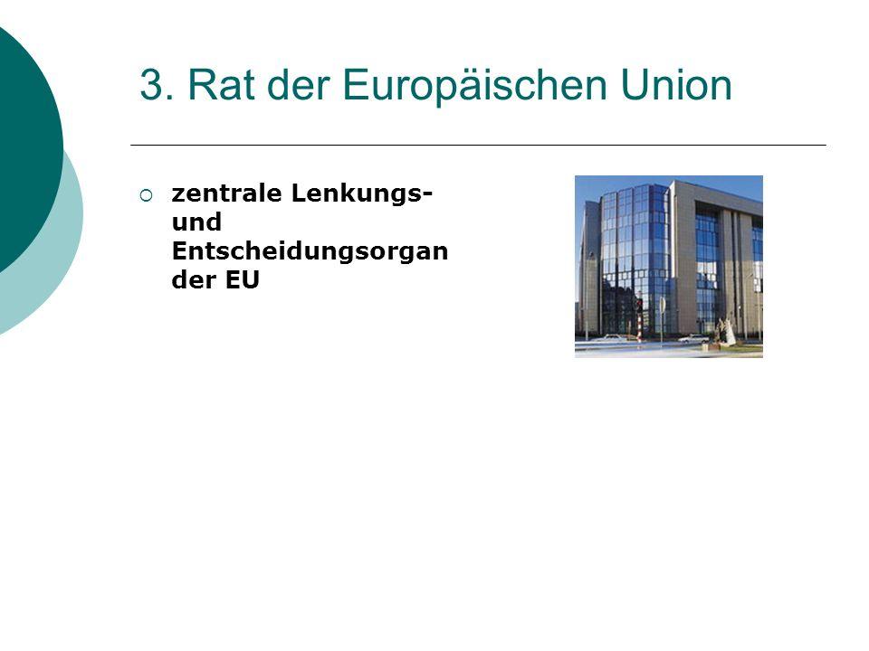 3. Rat der Europäischen Union