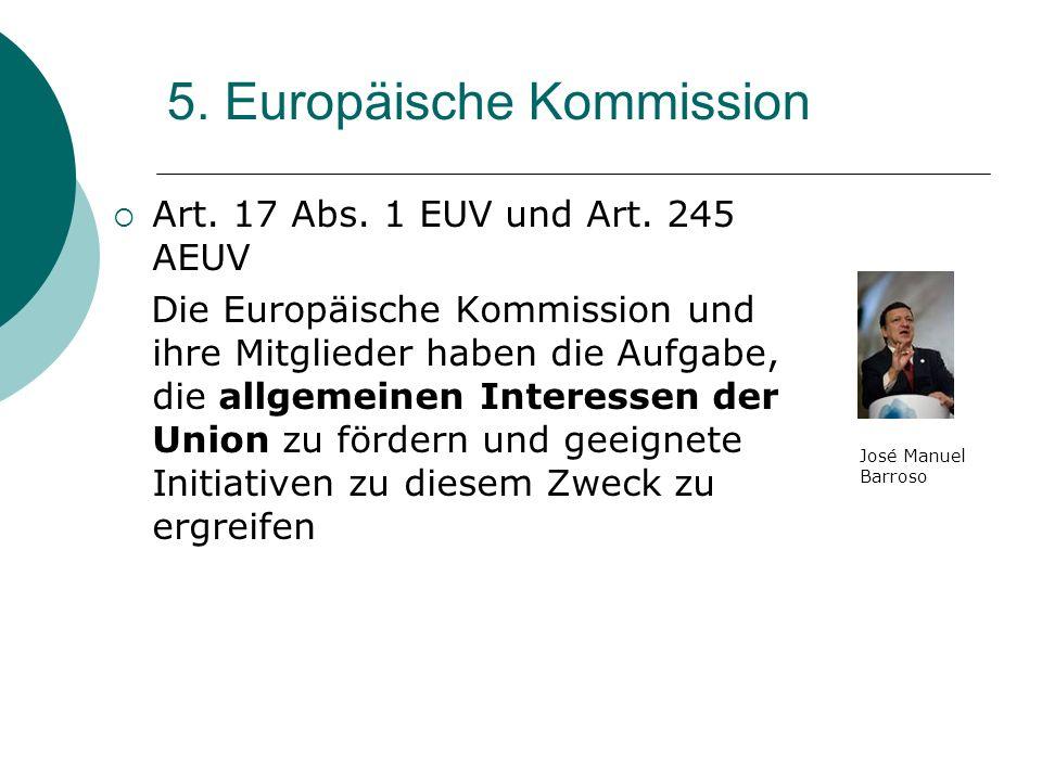 5. Europäische Kommission