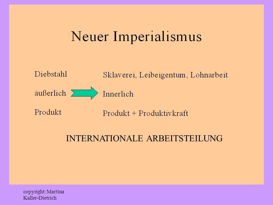 INTERNATIONALE ARBEITSTEILUNG