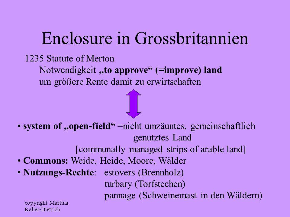 Enclosure in Grossbritannien