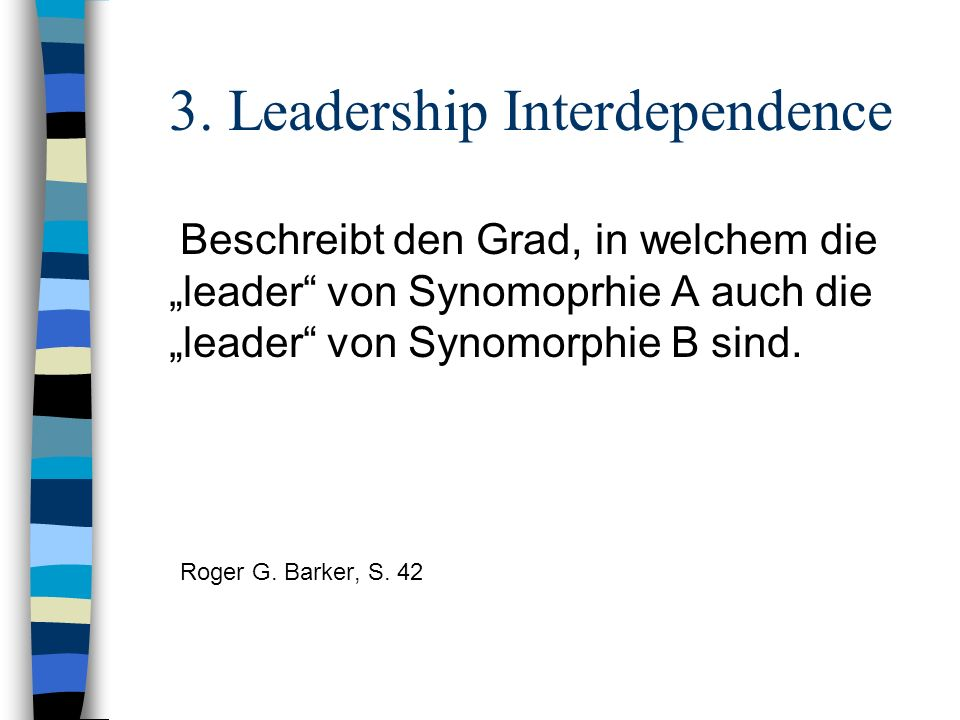 3. Leadership Interdependence