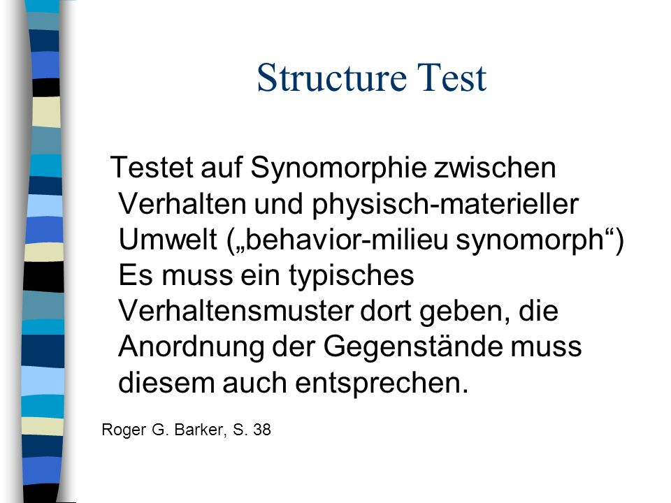 Structure Test