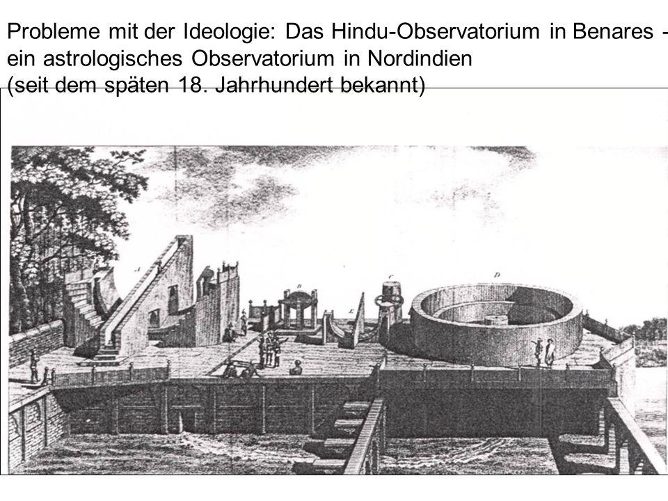 Probleme mit der Ideologie: Das Hindu-Observatorium in Benares -