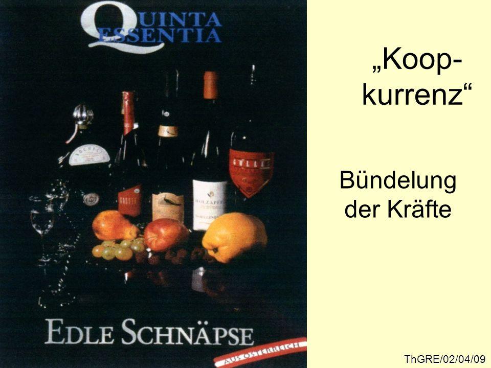 """Koop- kurrenz Bündelung der Kräfte ThGRE/02/04/09"