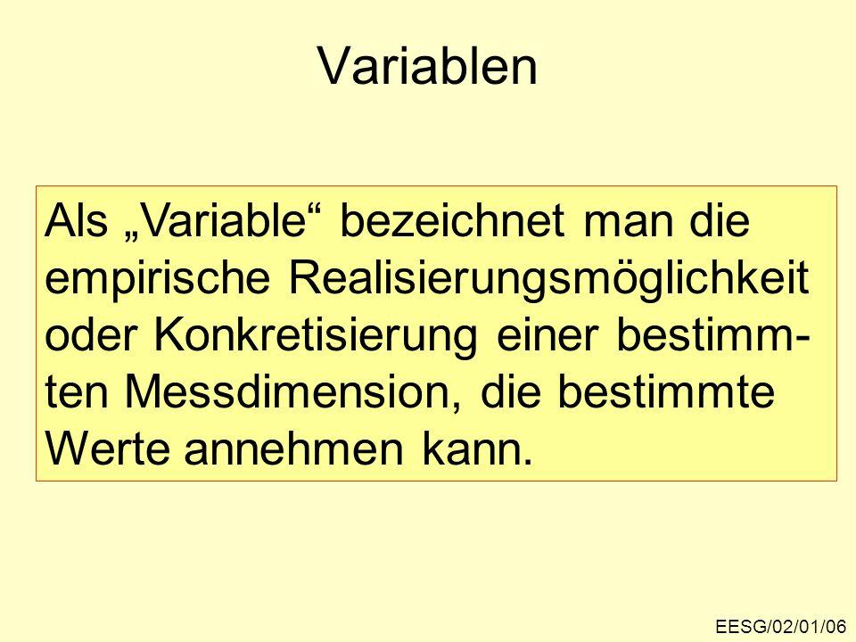 """Variablen Als """"Variable bezeichnet man die"""