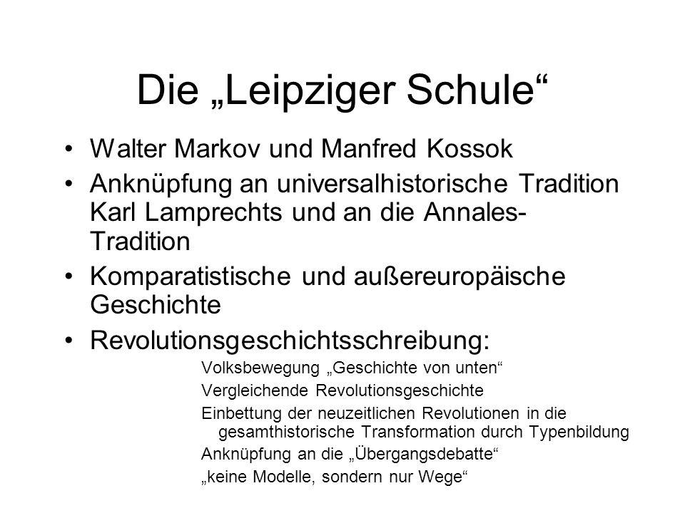 """Die """"Leipziger Schule"""