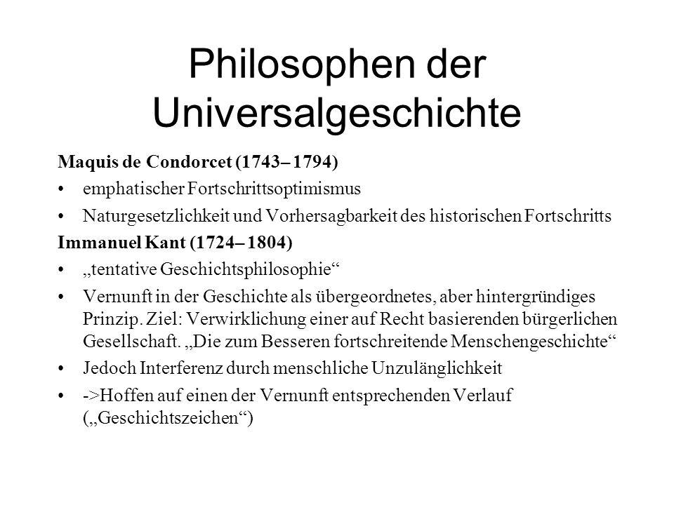 Philosophen der Universalgeschichte
