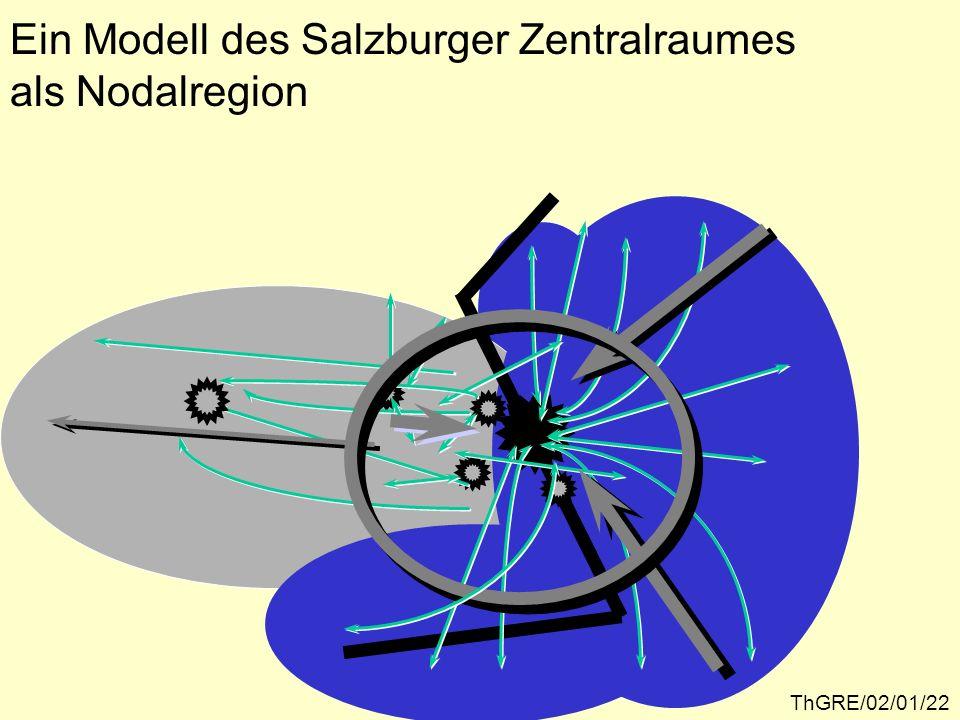 Ein Modell des Salzburger Zentralraumes als Nodalregion