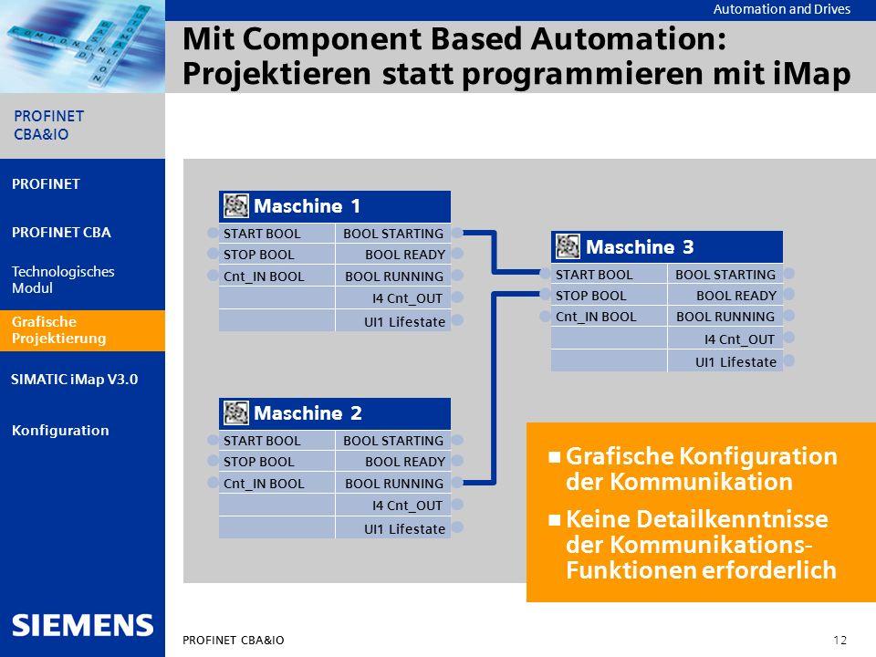Mit Component Based Automation: Projektieren statt programmieren mit iMap
