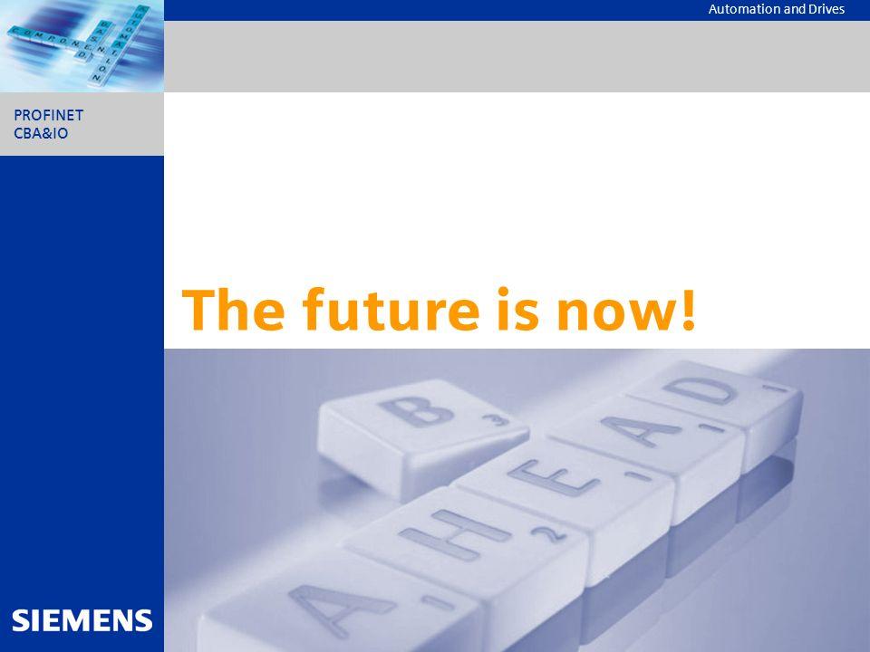 The future is now! Dieser Chart sollte am Ende einer jeden Präsentation stehen.