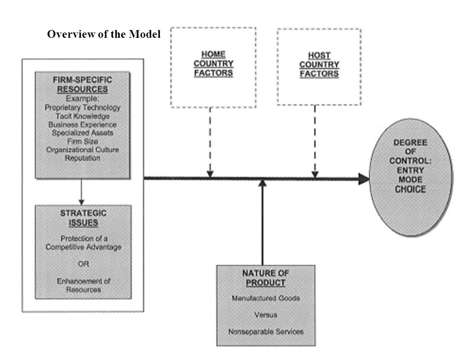 Overview of the Model