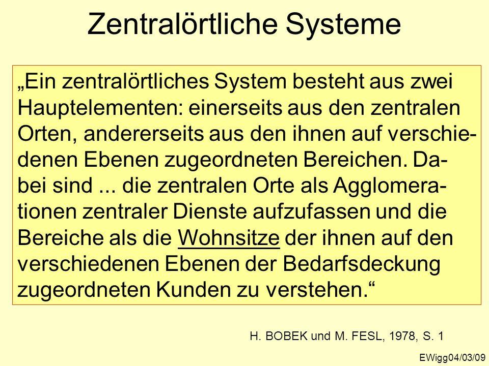 Zentralörtliche Systeme
