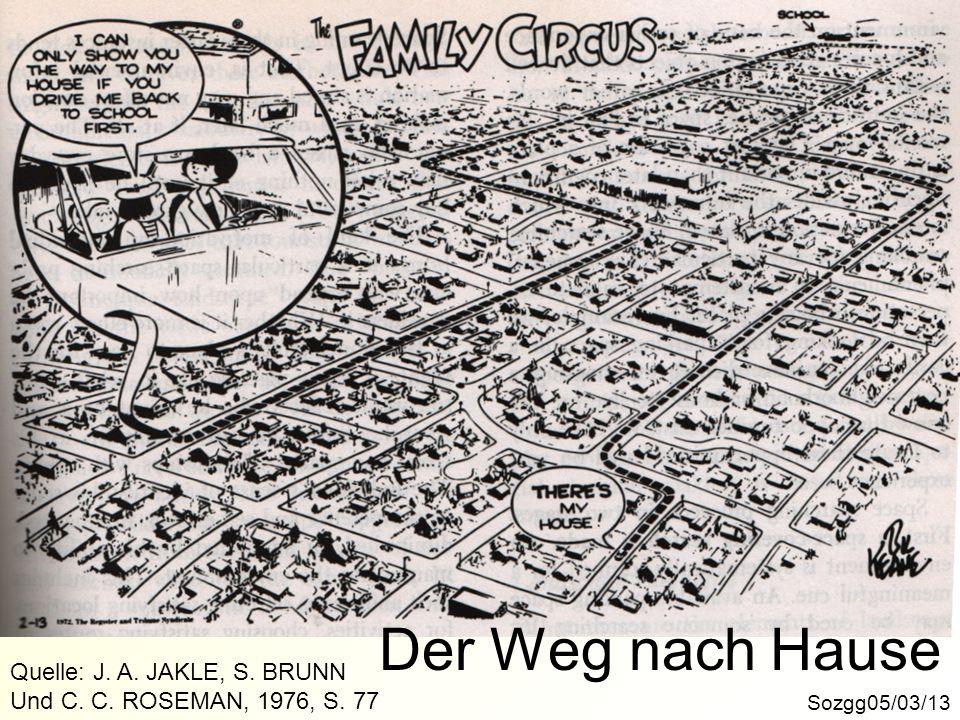 Der Weg nach Hause Quelle: J. A. JAKLE, S. BRUNN