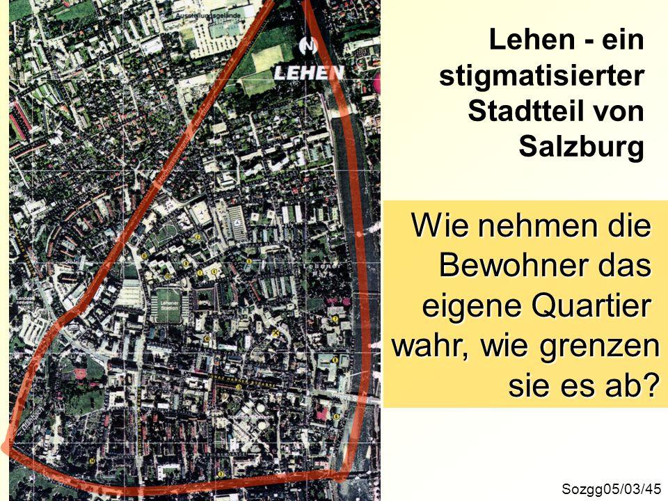 Lehen - ein stigmatisierter Stadtteil von Salzburg