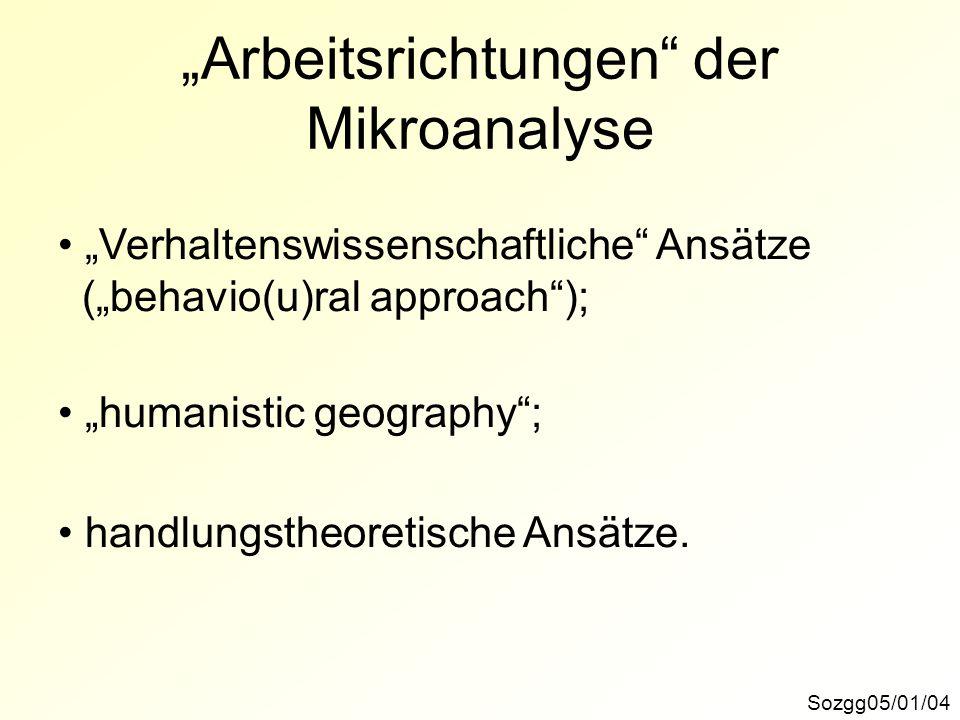 """""""Arbeitsrichtungen der Mikroanalyse"""