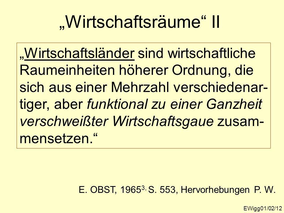 """""""Wirtschaftsräume II"""