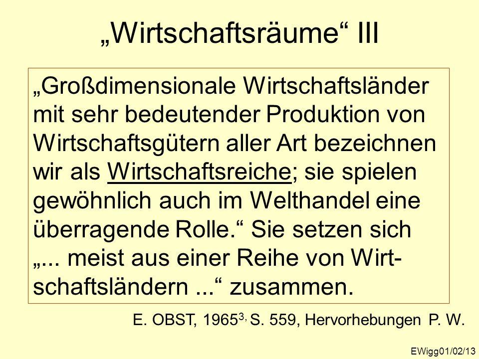 """Wirtschaftsräume III"