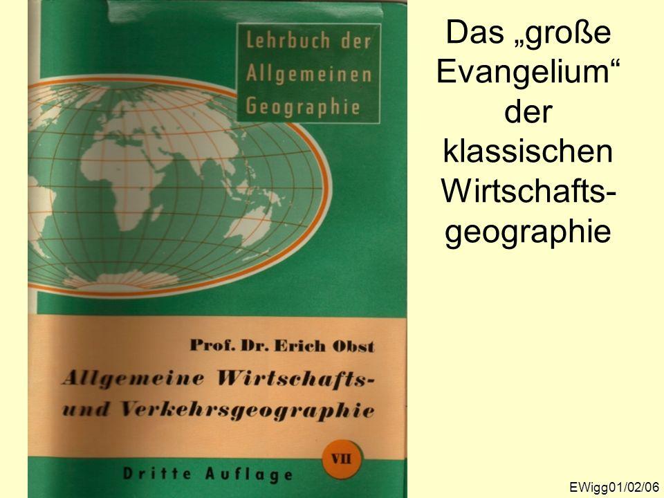 """Das """"große Evangelium der klassischen Wirtschafts-geographie"""