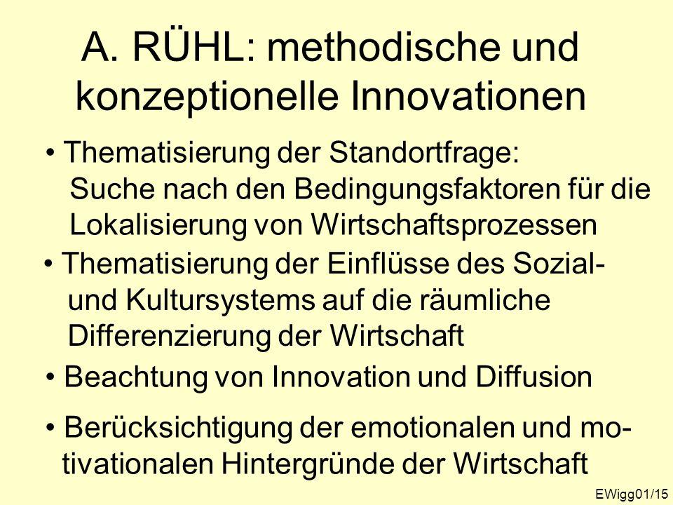 A. RÜHL: methodische und konzeptionelle Innovationen
