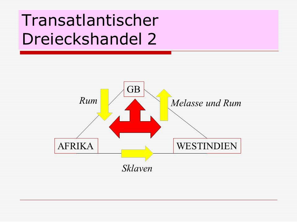Transatlantischer Dreieckshandel 2