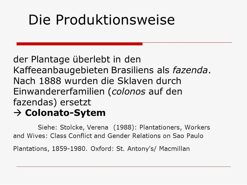 Die Produktionsweise