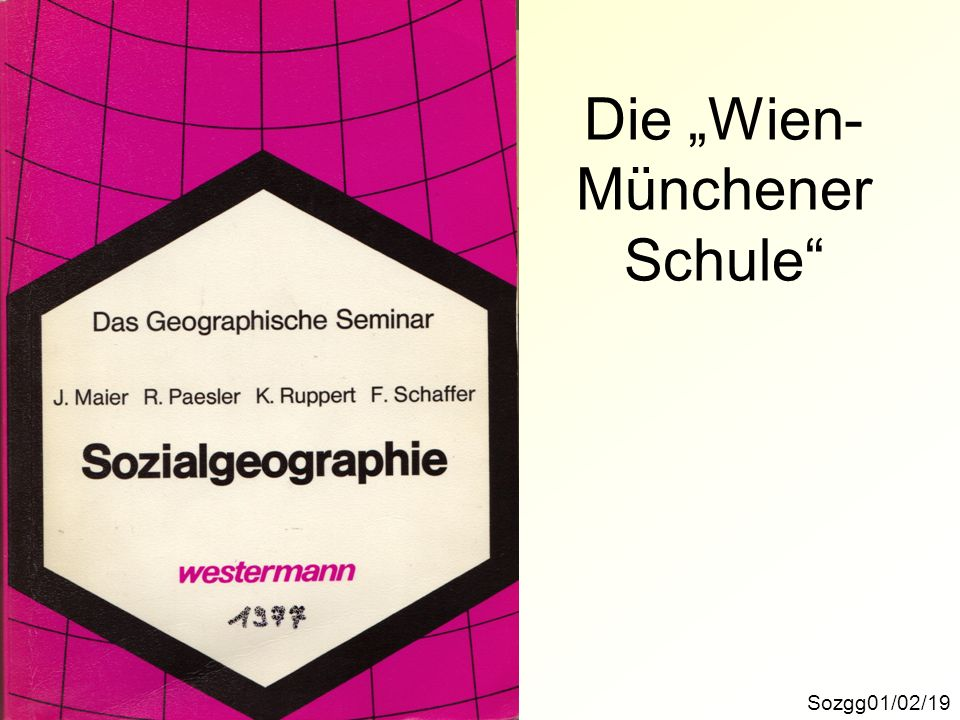 "Die ""Wien-Münchener Schule"