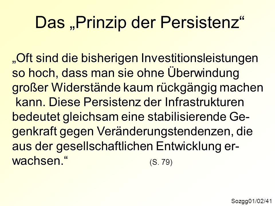 """Das """"Prinzip der Persistenz"""