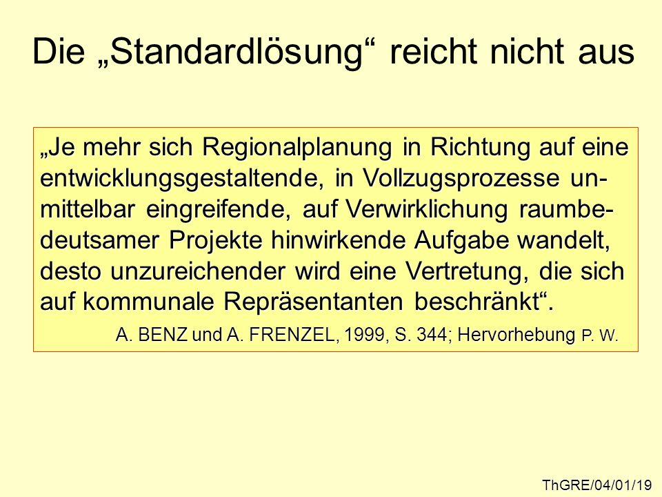 """Die """"Standardlösung reicht nicht aus"""
