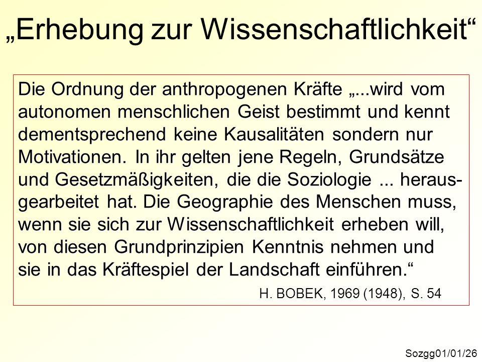 """""""Erhebung zur Wissenschaftlichkeit"""