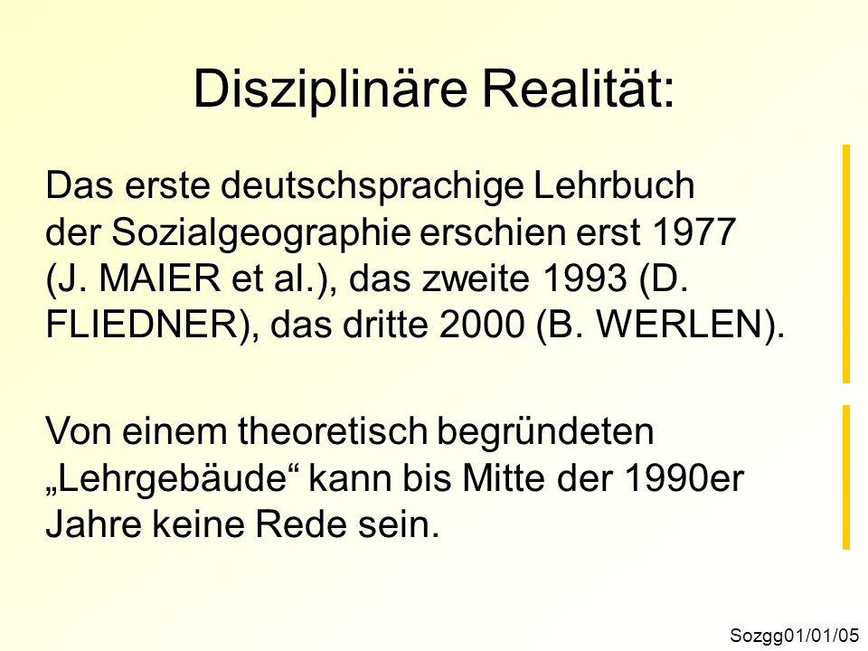 Disziplinäre Realität: