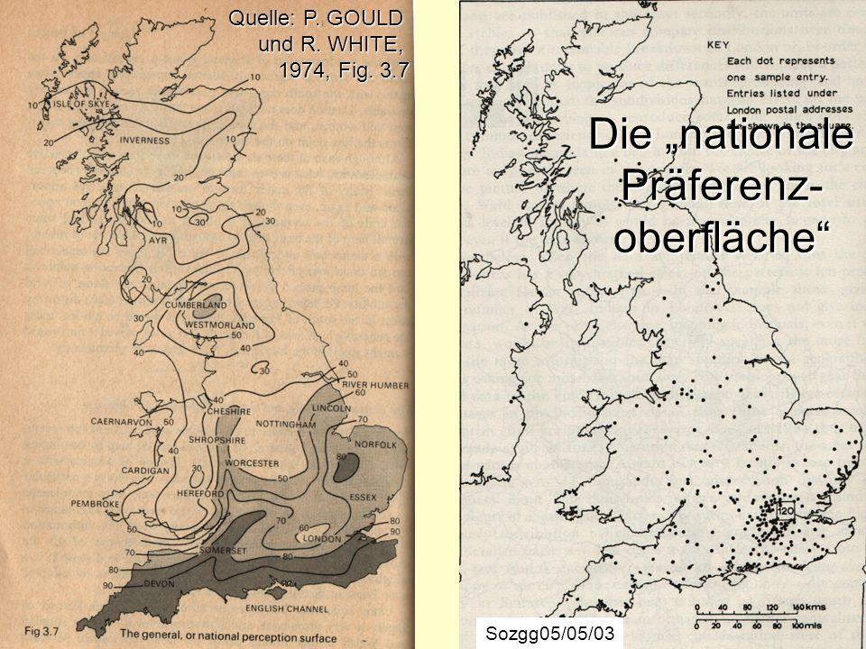 """Die """"nationale Präferenz-oberfläche"""