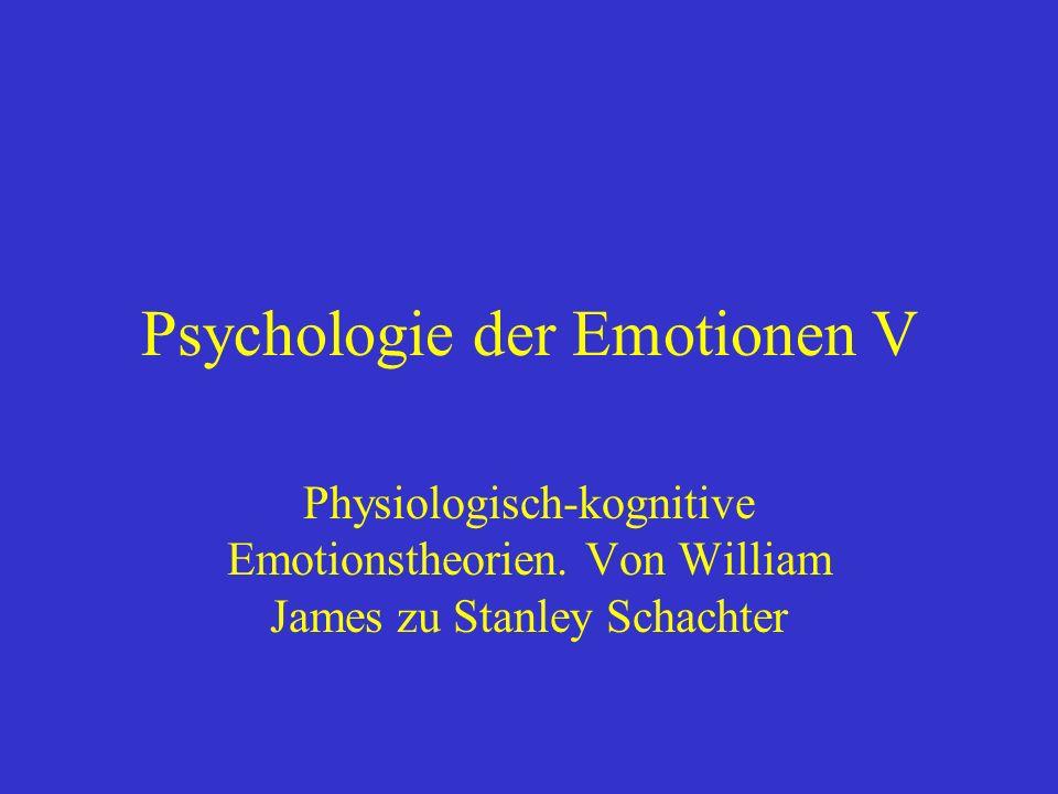 Psychologie der Emotionen V