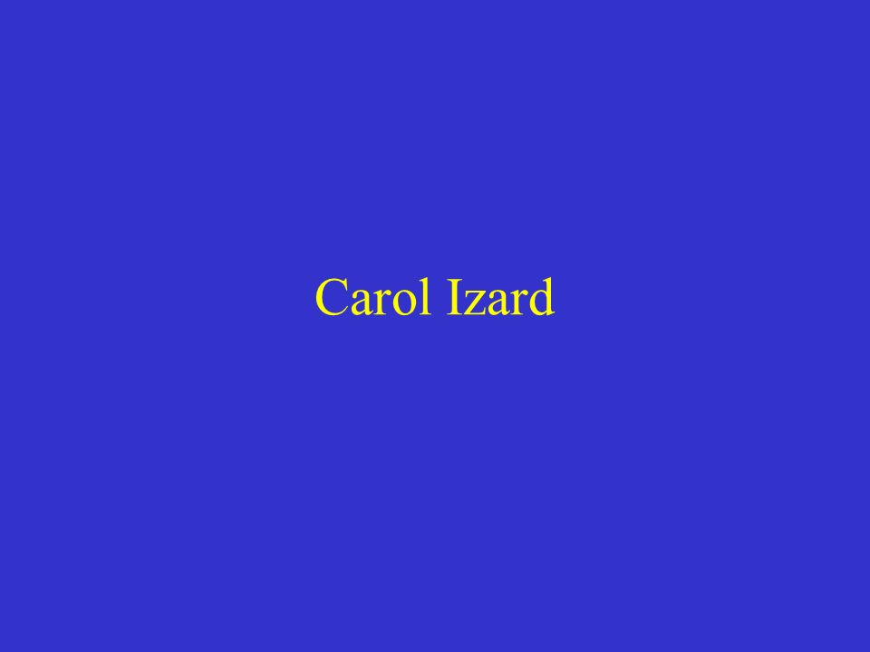 Carol Izard