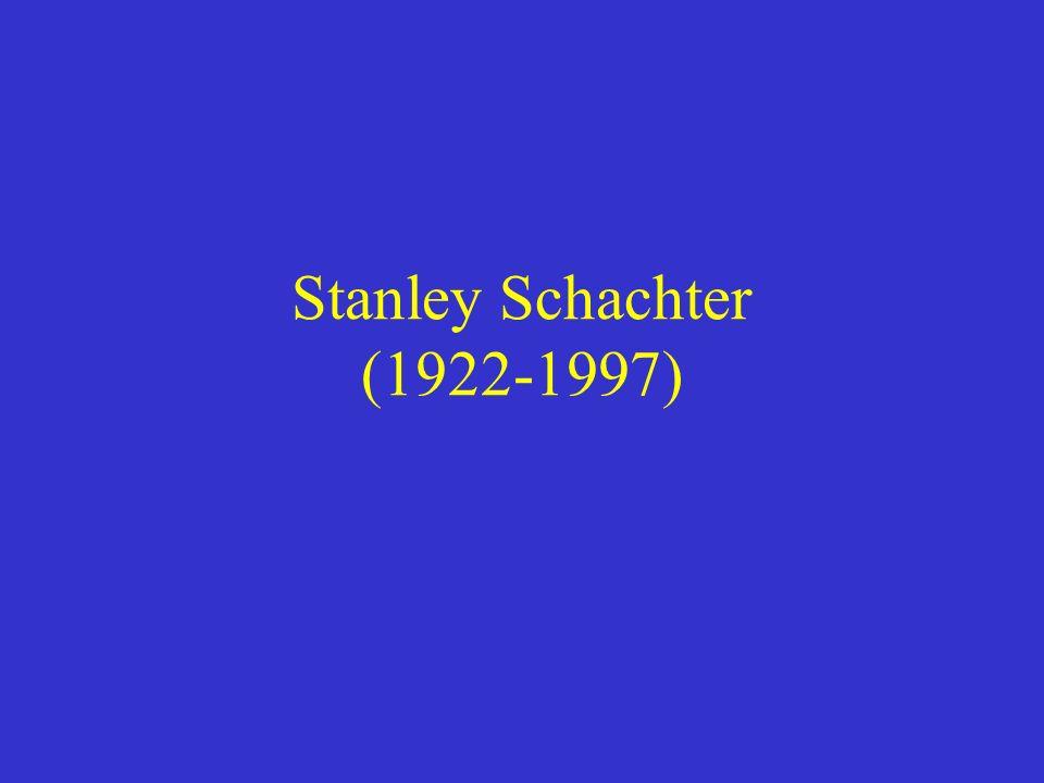 Stanley Schachter (1922-1997)